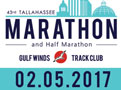 2017 Tallahassee Marathon Billboard - Gulf Winds Track Club